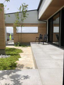 お庭のある暮らし 建築家と建てる家 R+house薩摩川内