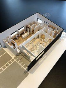 建築家さんの作った模型を掃除する! R+house薩摩川内